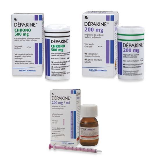 Depakine là loại thuốc chống co giật thường dùng ở trẻ em